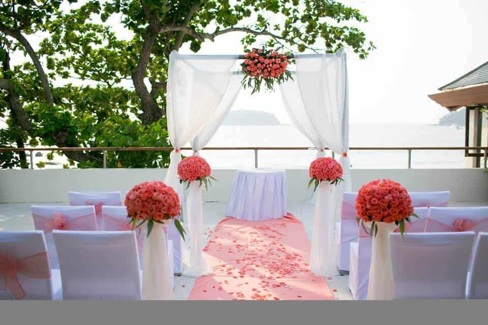 Wedding Flowers Phuket Thailand