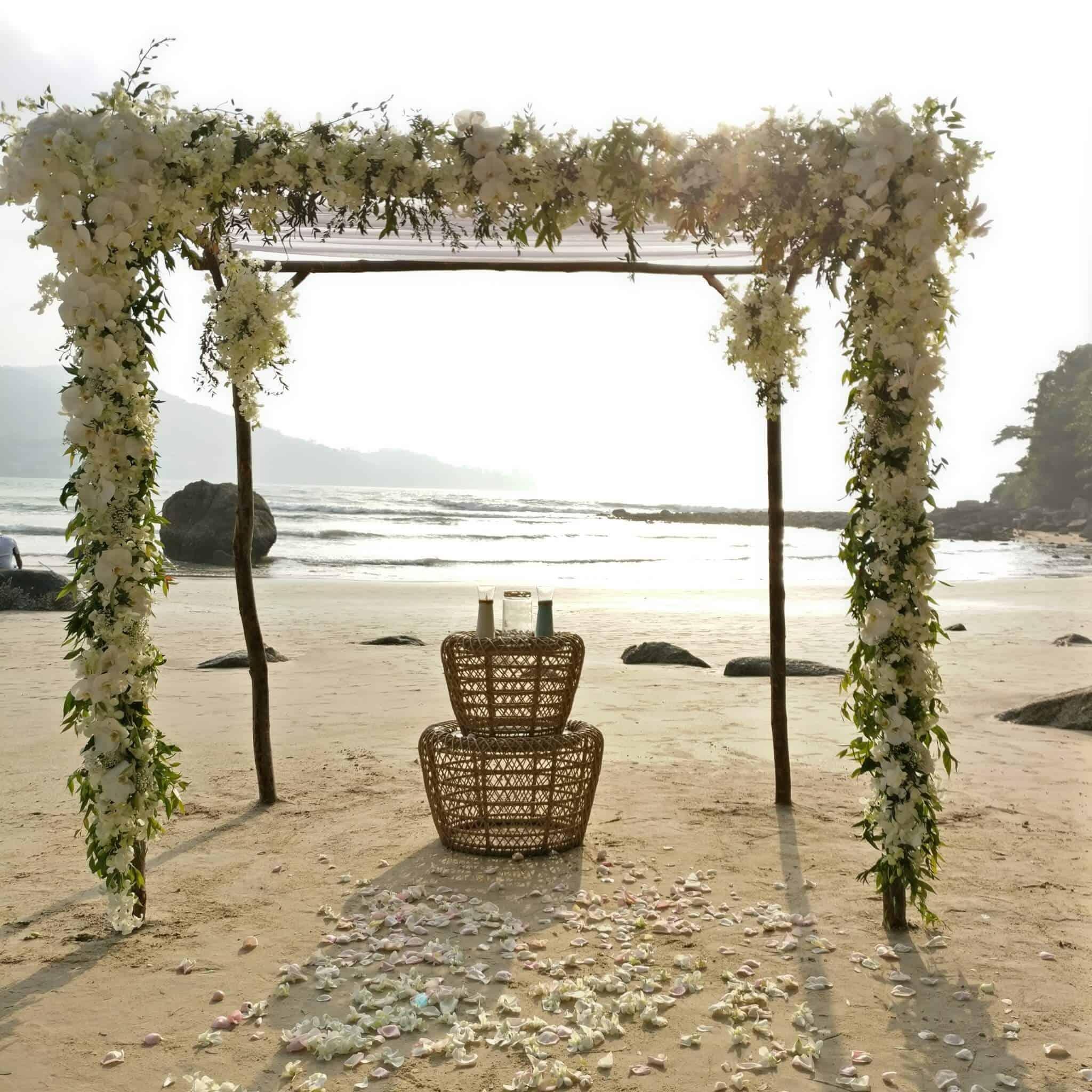 Unique phuket wedding planners beach bamboo gazebo (10)