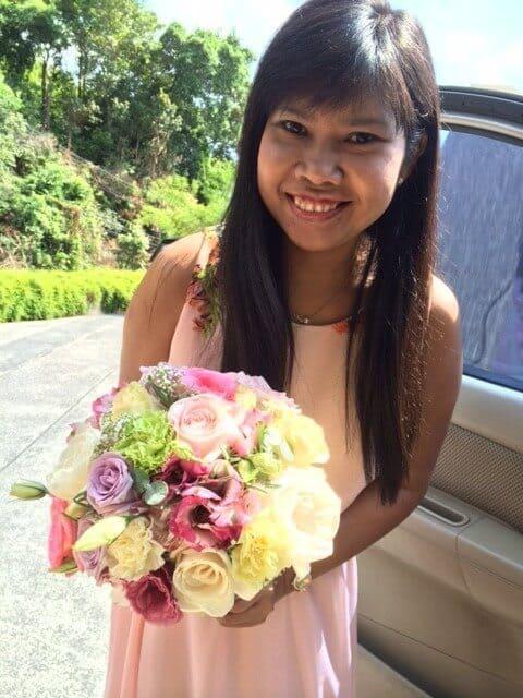 Bouquet Wedding Flowers Phuket Thailand