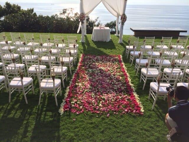 Villa Wedding Flowers Phuket Thailand