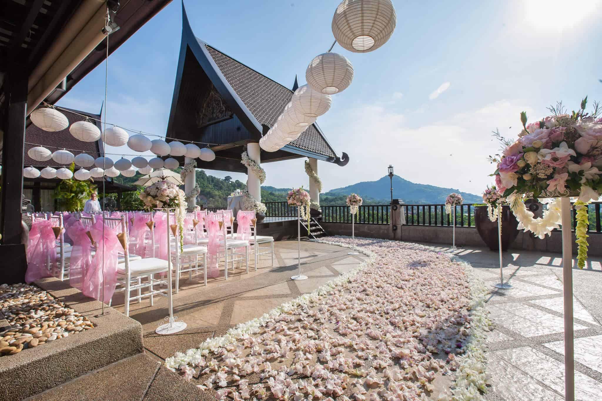 Villa Baan Chang Thai Wedding Flowers Phuket Thailand