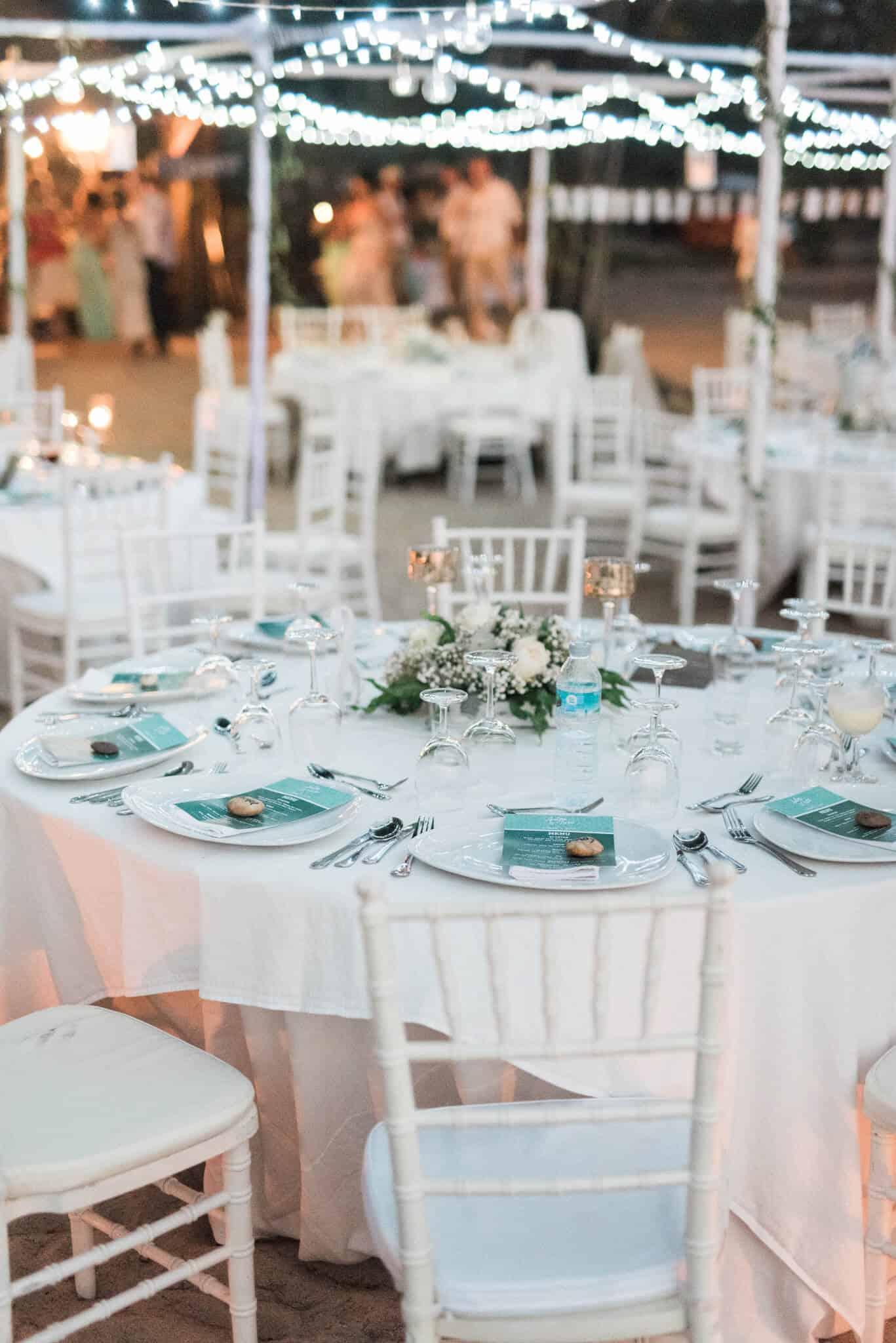 Wedding Reception Table Phuket