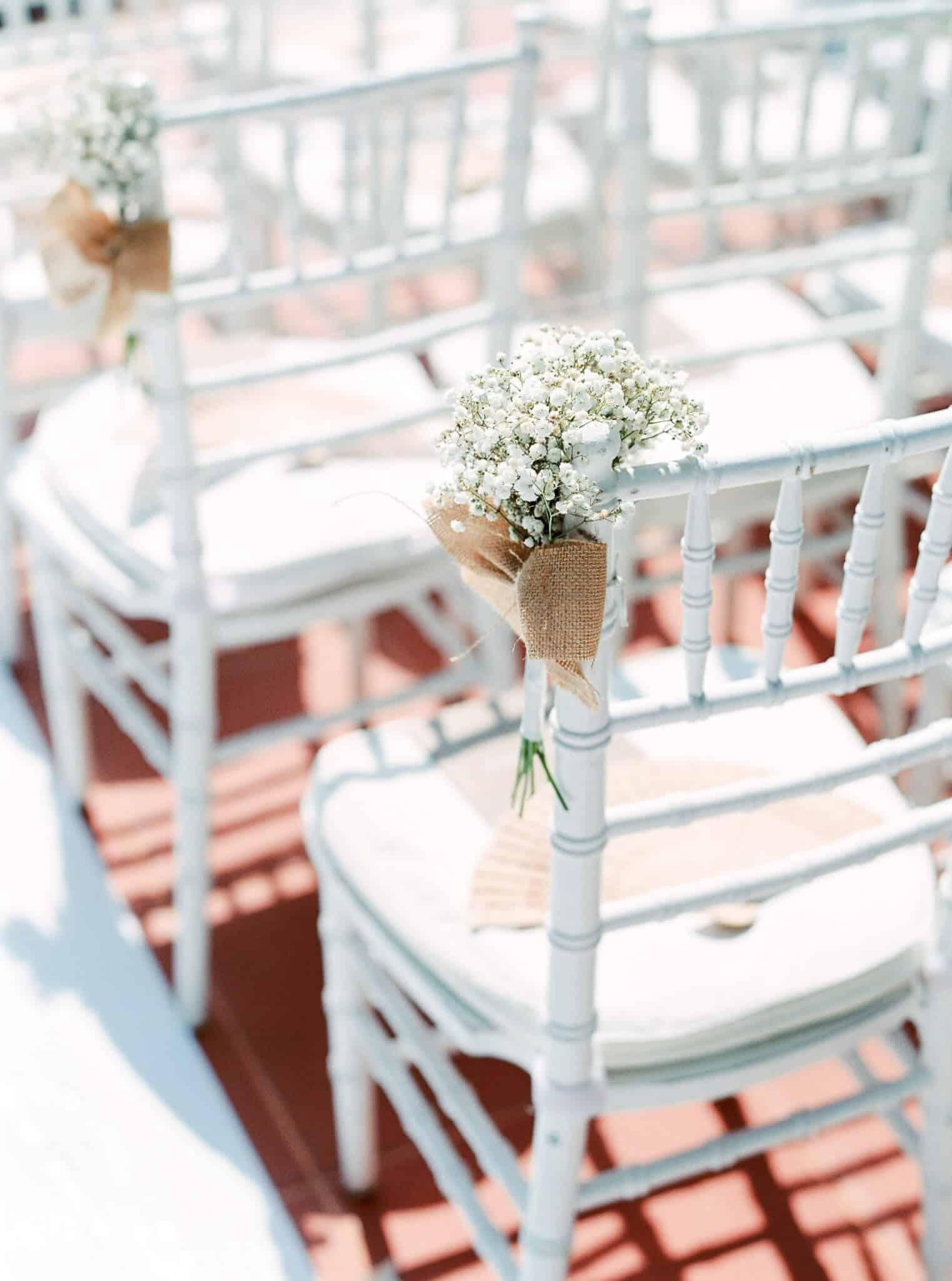 Wedding Chair Decoration - Wedding Flowers Phuket