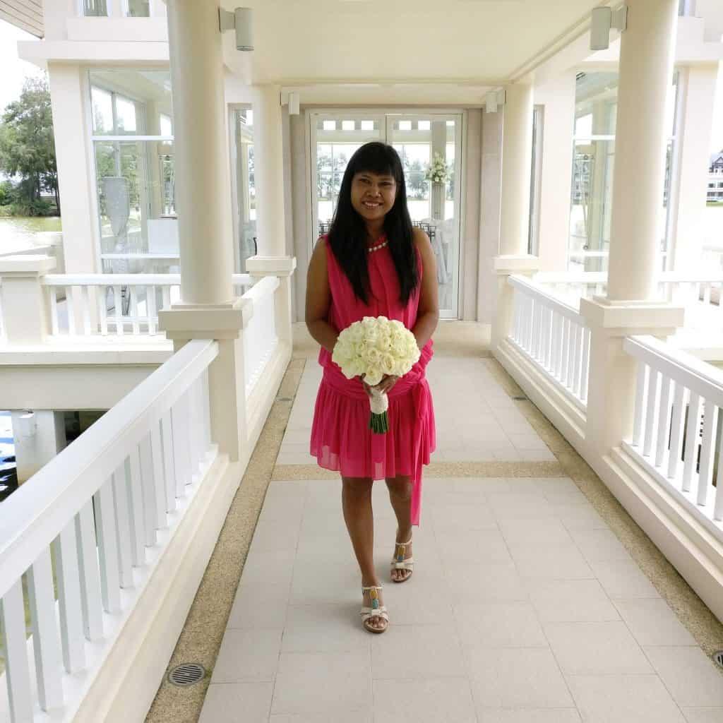 Wedding Church Flowers Phuket Thailand