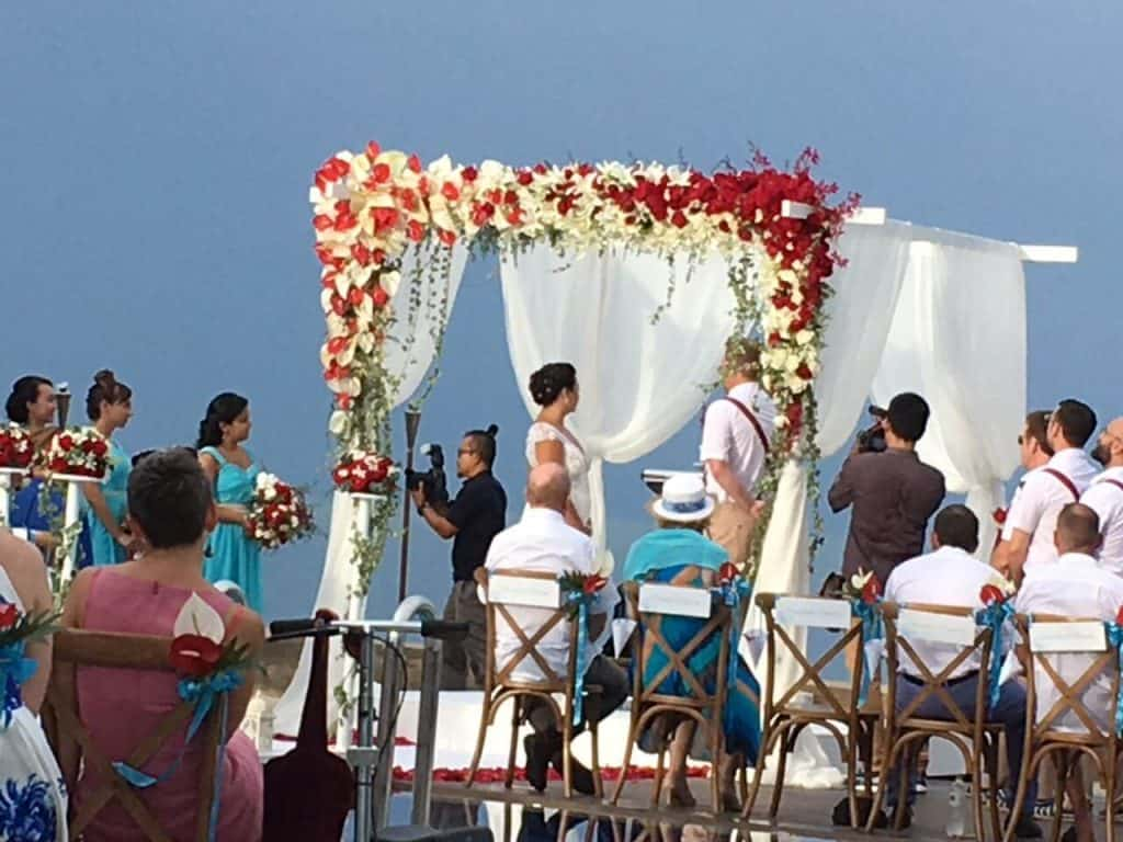 Wedding Ceremony Flowers Phuket Thailand