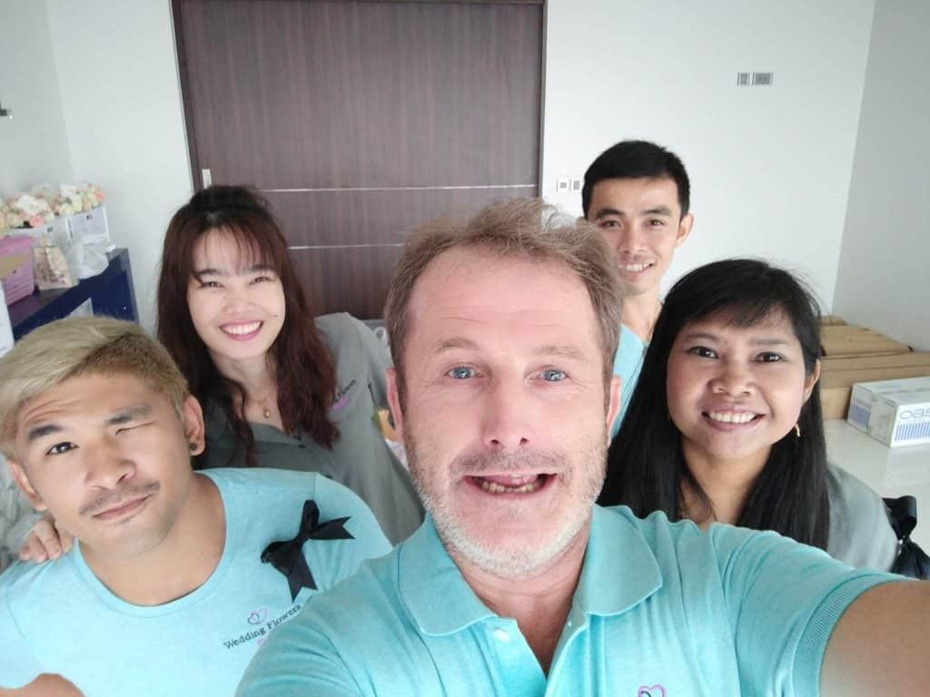 Wedding Flowers Phuket Team