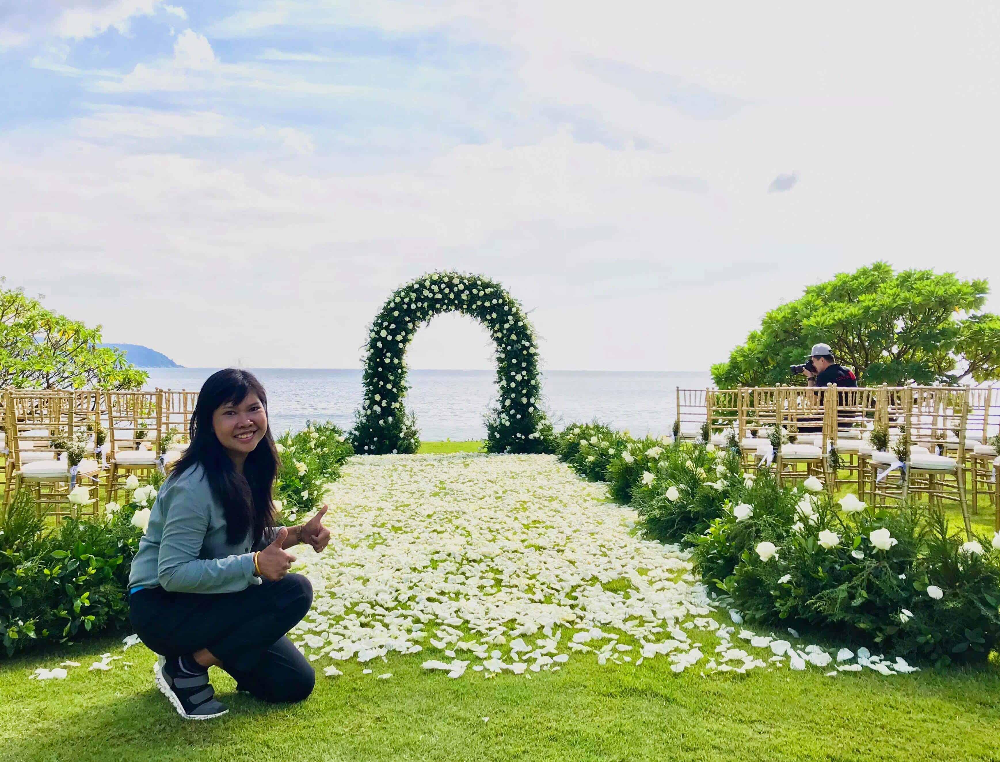 Wedding Flowers Setups