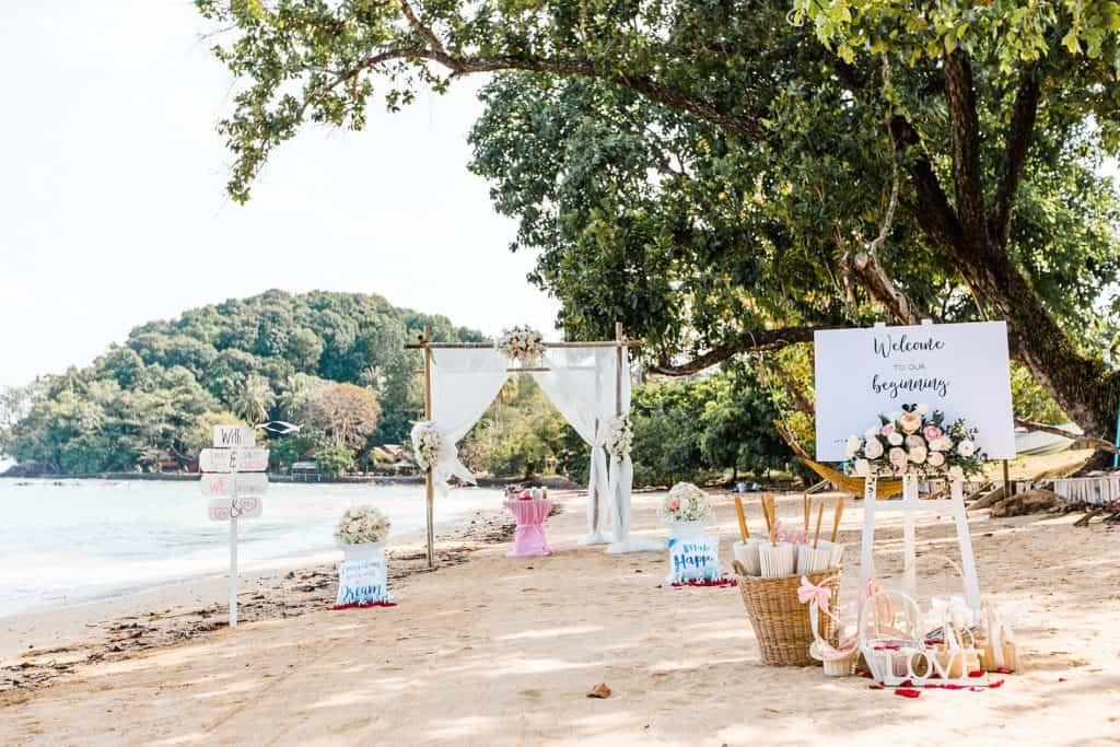 Gilles And Nicole Beach Wedding 25th Jan 2019 - Laguna Villas Island 58